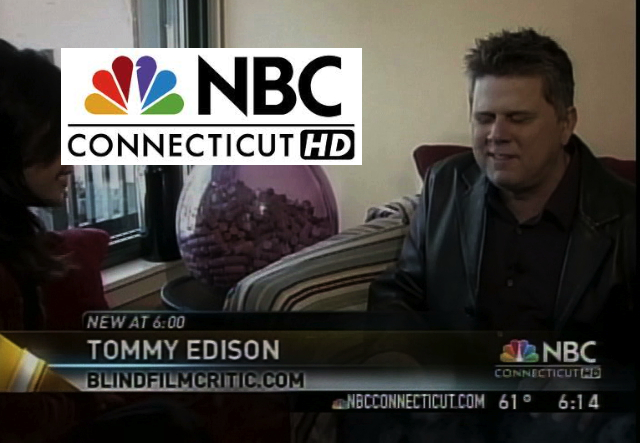 NBC CT story on the Blind Film Critic