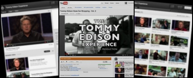 """The Tommy Edison Experience"" web series features Tommy Edison, who has been blind since birth, answering the most most popular questions about living without sight. The channel was launched on October 10, 2011 and is now available on Hulu and YouTube. The show is produced/directed/edited by Ben Churchill. (http://benchurchill.com) ""The […]"