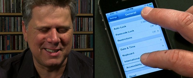 Tommy Edison, who has been blind since birth, demonstrates how people who are visually impaired use the iPhone 4S. He shows us how the Accessibility setting on the phone allows him to use the Twitter and You Tube applications. Follow Tommy on Twitter: http://twitter.com/blindfilmcritic Follow Tommy on Instagram: http://instagram.com/blindfilmcritic Like […]