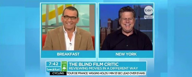Paul Henry, from TEN Breakfast Australia, is joined by blind film critic Tommy Edison live from New York, to chat about how he reviews and critiques movies from a different perspective. For more visit http://www.tenbreakfast.com.au